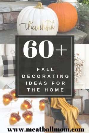 Grab yourself a pumpkin spice latte and warm up to these 60+ fall decorating ideas for the home! They're anything but basic! #falldecor, #falldecoratingideas, #falldecorforthehome, #falldecorating #homedecor