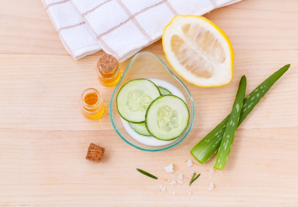 self care ideas-natural-ingredients-for-skincare