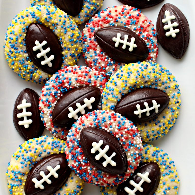 thumbprint-cookies-with-footballs
