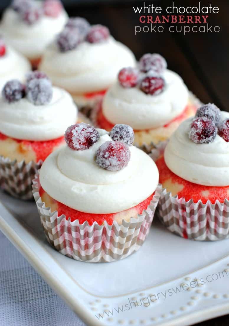 white-chocolate-cranberry-poke-cupcakes