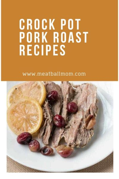 crock-pot-pork-roast-recipes