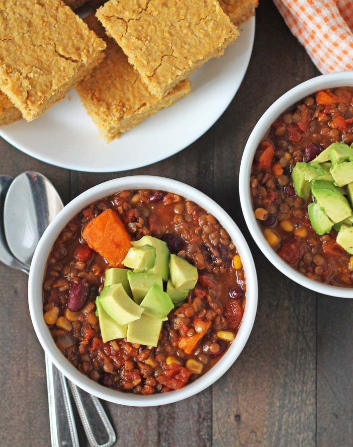 lentil-sweet-potato-slow-cooker-chili