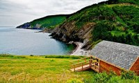 Hillside Cabins in Meat Cove