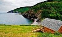 Hillside Cabins in Meat Cove