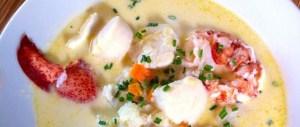 Seafood Chowder Cape Breton