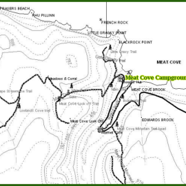 meat cove campground walking trails