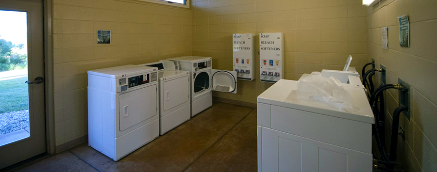 Meat Cove Campground Laundry Facility