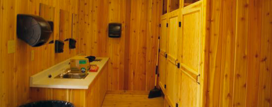 Meat Cove Campground Shower House