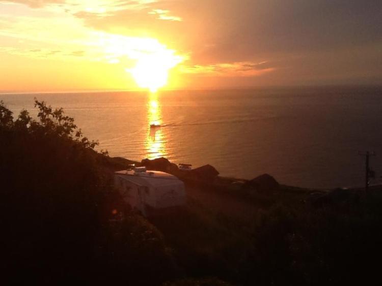 Beautiful Cape Breton Sunset Meat Cove