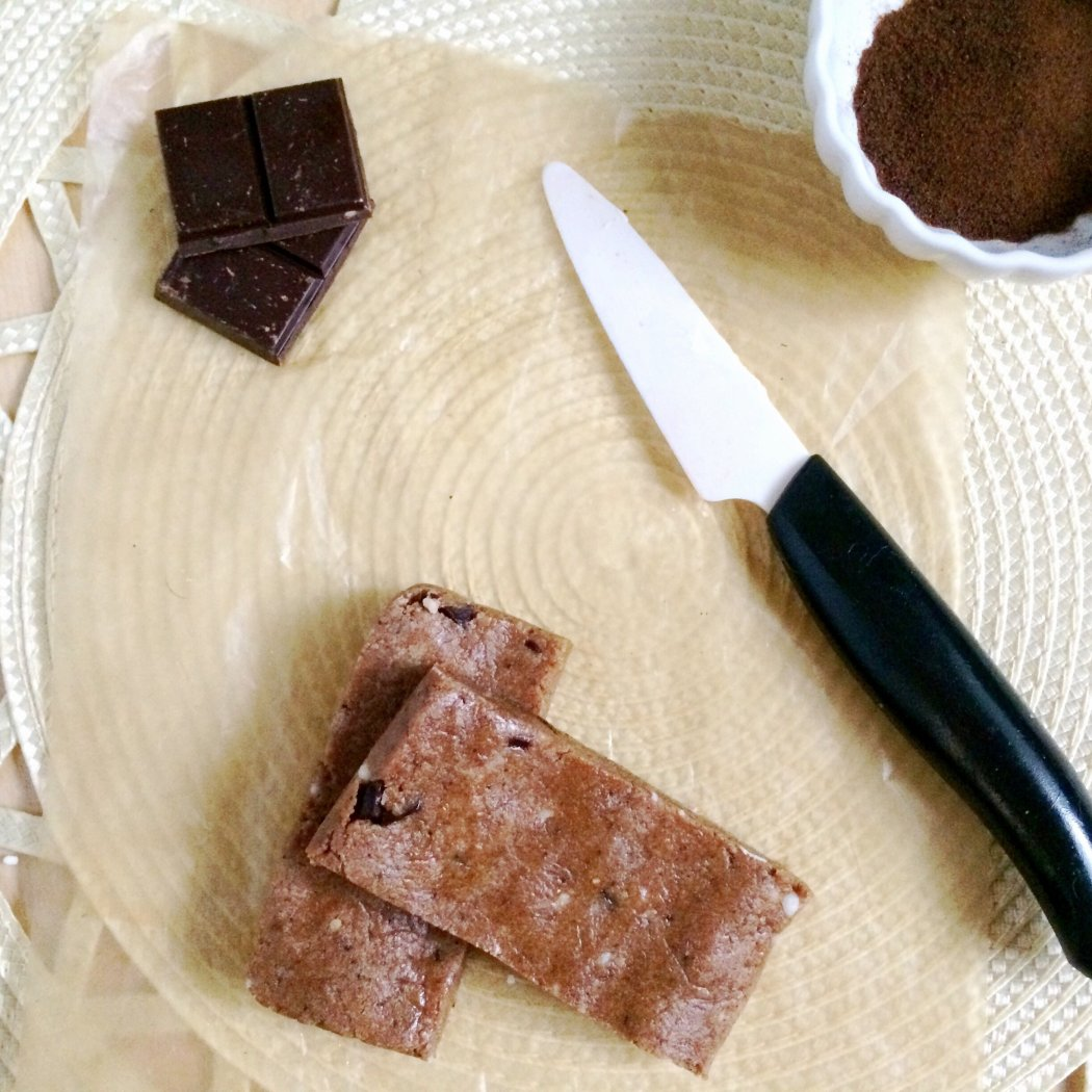 Low Carb Mocha Chip Protein Bars - Chocolate + Coffee = Love