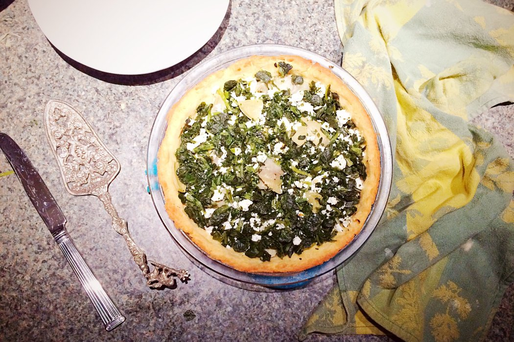 Low Carb Spinach Pie | Grain free, gluten free, nut free, keto, LCHF
