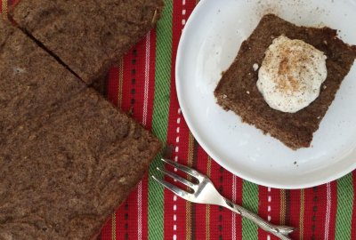 Low Carb Gingerbread | A delicious and super easy keto and atkins friendly twist on a holiday classic!