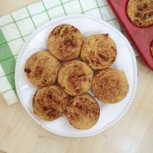 Low Carb Doughnut Muffins | Grain Free, gluten free, dairy free & sugar free!