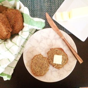 Nut Free Keto Dinner Rolls   A low carb, gluten free & grain free alternative to bread!