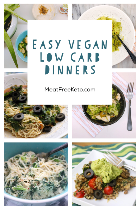 Easy Vegan Keto Dinner Recipes | Meat Free Keto