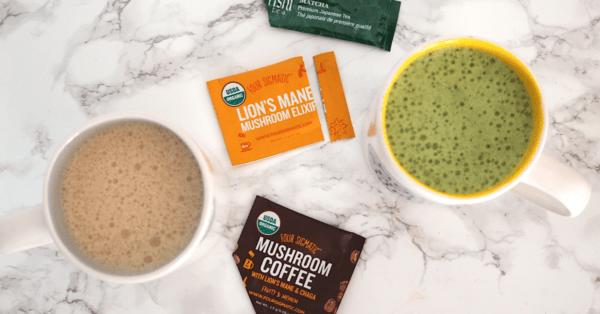 Low Carb Vegan Superfood Lattes