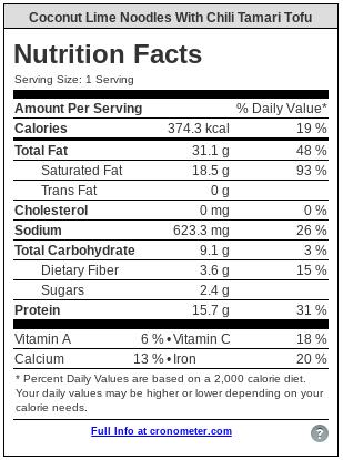 Low Carb Vegane Kokosnuss Limettennudeln | Fleischfreies Keto - Dieses kohlenhydratarme, vegane Kokosnuss-Limetten-Nudelgericht ist glutenfrei, nussfrei, futtermittelarm und voller pflanzlicher Güte! Es ist auch super einfach zuzubereiten und lecker!