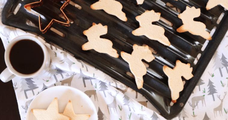 Vegan Keto Sugar Cookies (gluten free, nut free)