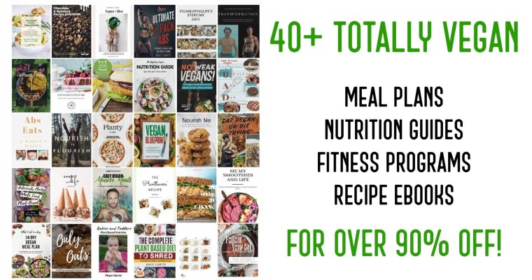 40+ Vegan Meal Plans, Nutrition Guide & Fitness Programs!
