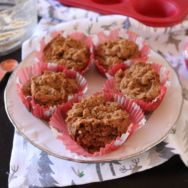 Vegan Keto Gingerbread Muffin's (low carb, gluten free)
