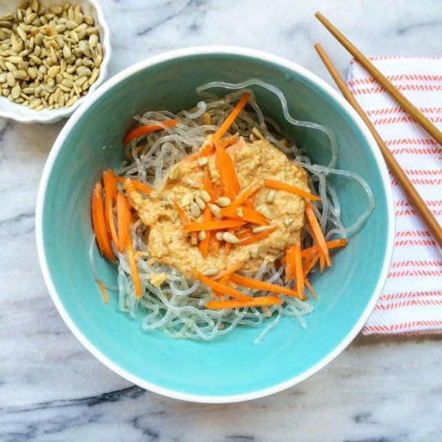 Raw Vegan Low Carb Pad Thai