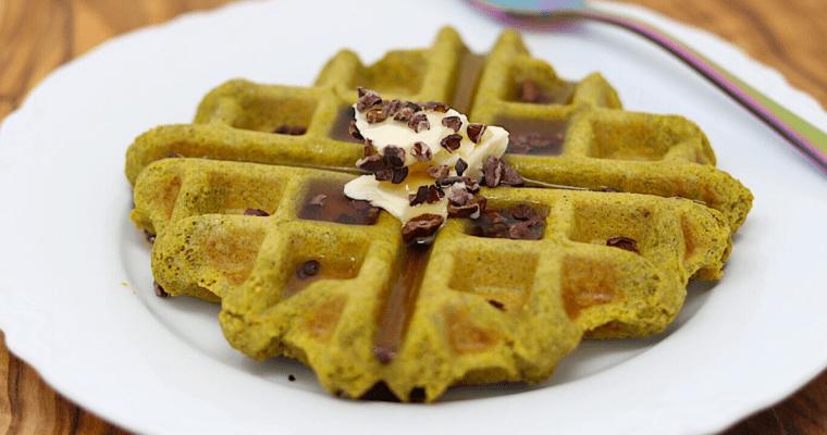 Vegan Keto Protein Waffles (gluten-free, coconut-free, soy-free)