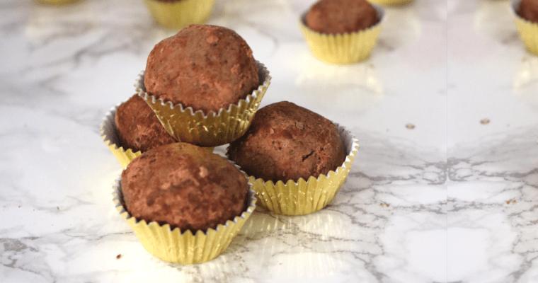 Vegan Keto Chocolate Protein Balls