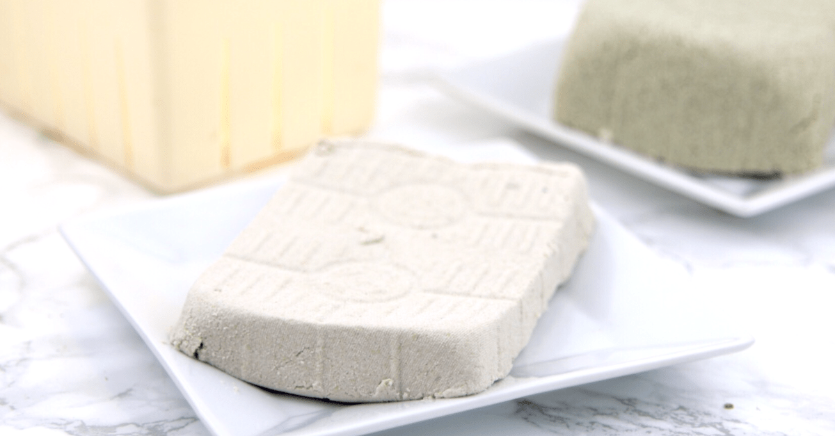Homemade Soy-Free Tofu | MeatFreeKeto.com - Everything you need to know about making soy-free tofu!