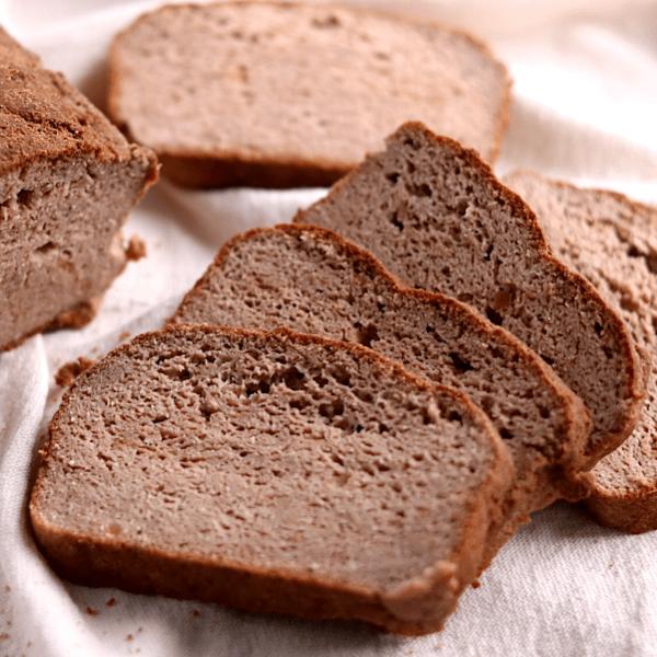 Craving-Busting Soft Vegan Keto Bread (gluten-free, soy-free)