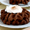 Vegan Keto Chocolate Waffles   MeatFreeKeto.com - These vegan keto chocolate waffles are a delicious low carb breakfast treat! They're also sugar-free, gluten-free, nut-free, egg-free, dairy-free and soy-free