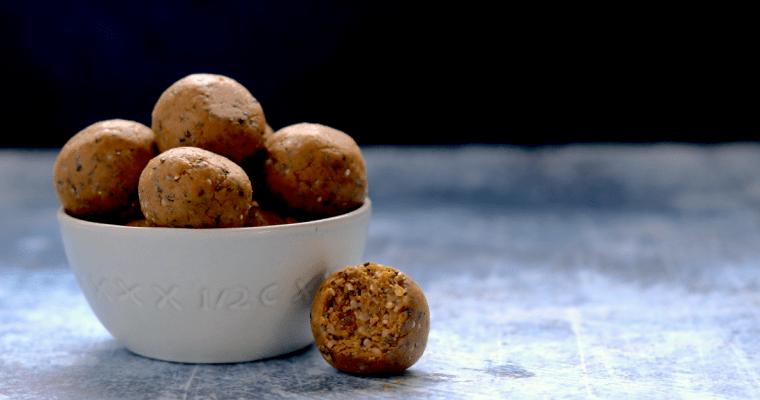 "Maple ""Noatmeal"" Breakfast Bites (vegan, keto-friendly, gluten-free)"