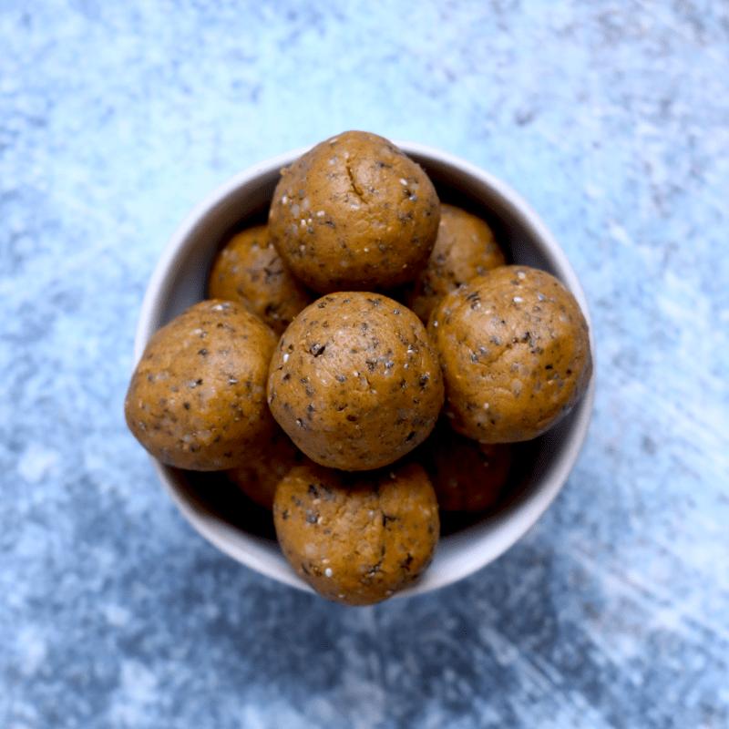 Maple Noatmeal Breakfast Bites (vegan, keto-friendly, gluten-free)