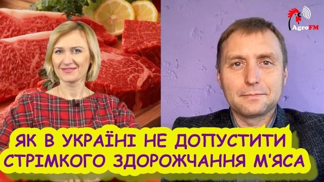 Інтерв'ю Миколи Бабенка: Як в Україні не допустити стрімкого здорожчання м'яса?