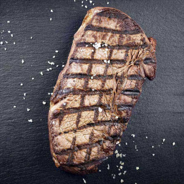 100% Grass Fed New York Steak 2pc/10oz