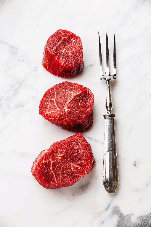 2 (5oz) Top Sirloin Baseball Steak USDA Prime-629