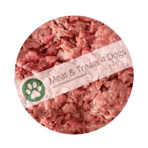Meat & Treats 4 Dogs, webwinkel voor enkelvoudig vers gemalen vlees en de gezonde snack voor uw trouwe viervoeter en een optimale gezondheid.