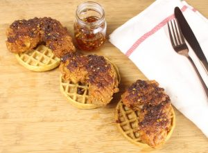 Nashville Hot Chicken and Waffles