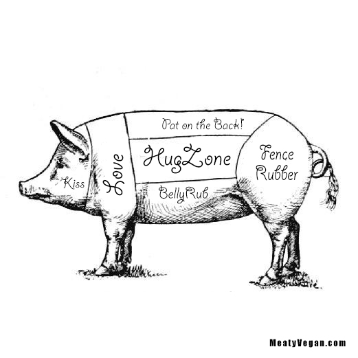 Pig Diagram – Rethought | Meaty Vegan