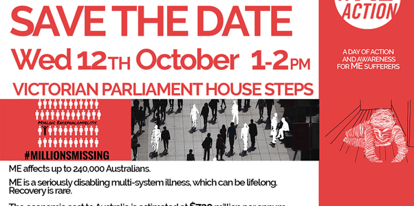 MillionsMissing flyer for Melbourne 12 Oct 1pm