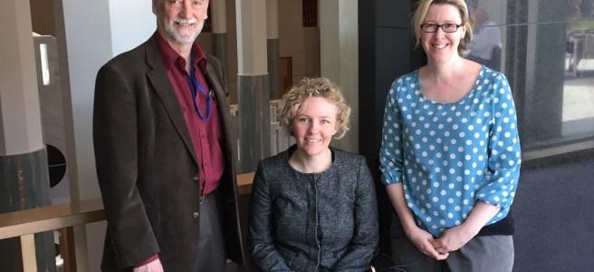 Prof Paul Fisher, Sasha Nimmo, Dr Heidi Nicholl