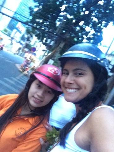Girl power on the bike!