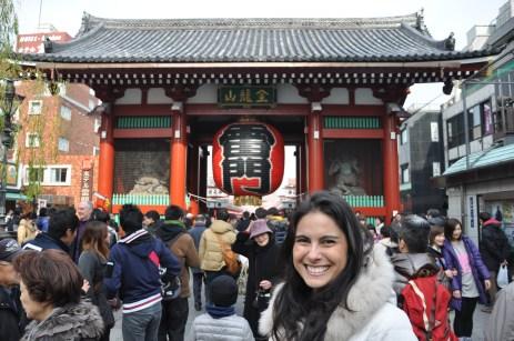 The entrance to the Asakusa market