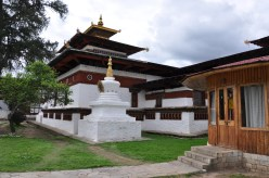 Kyichu Lhakhang Monastery from the outside