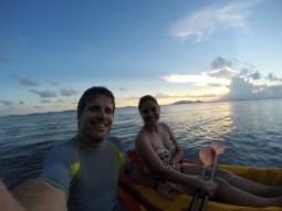 A quick kayak