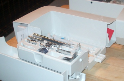 Euro Pro Shark Intelli Sew machine