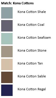 Belfast Church palette Kona