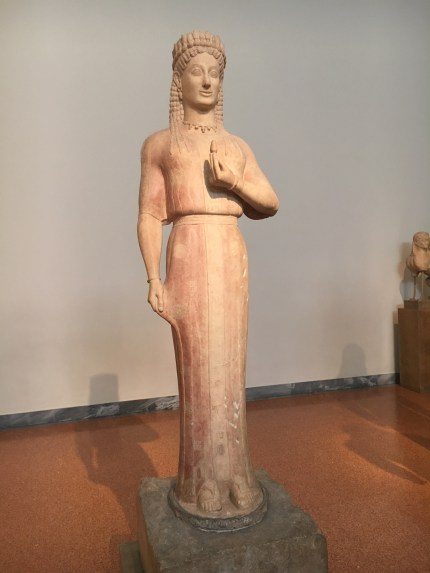 Statue of a kore