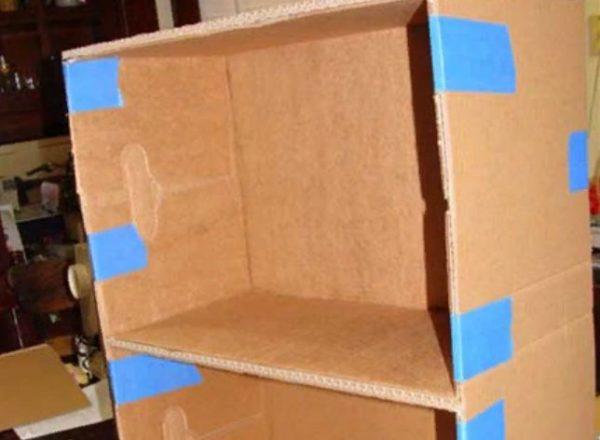 Способ склеивания картонаСпособ склеивания картона