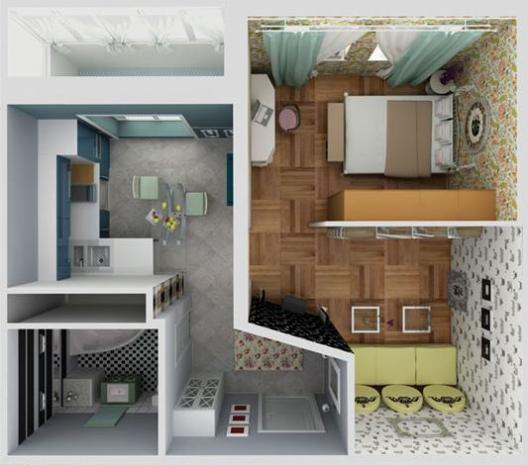 Фото однокомнатной квартиры с ремонтом » Картинки и ...