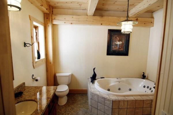 Интерьер ванной комнаты в частном доме фото » Картинки и ...